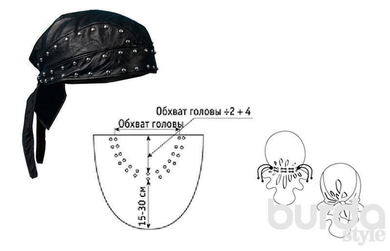 Бандана: практично и модно | Hats & Shall | Pinterest | Decoracion ...