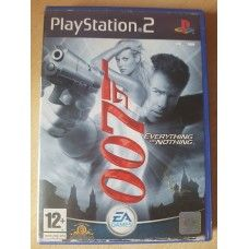 007 Everything Or Nothing Pal For Sony Playstation 2 Ps2 From Ea
