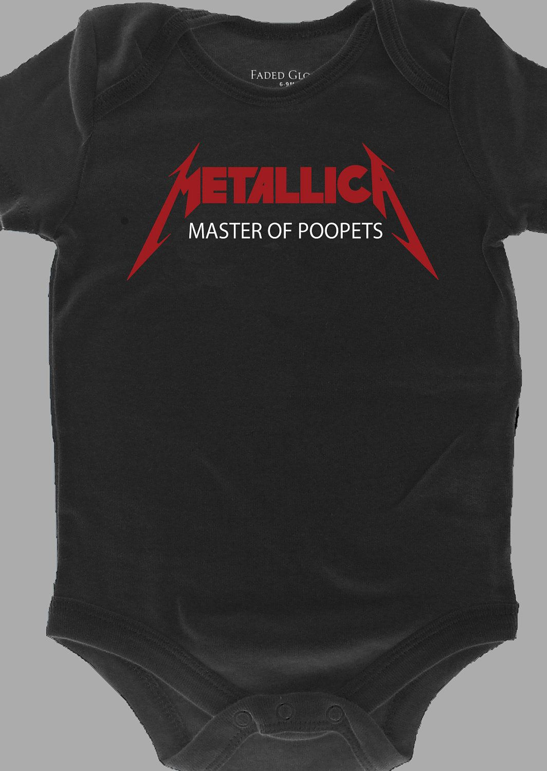 2e7a2871f metallica onesies - Google Search | Baby boy outfits | Baby bodysuit ...