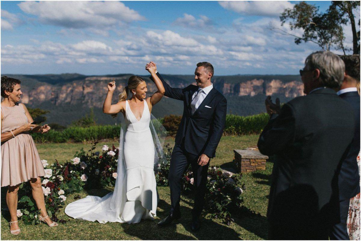 Allview Escape Blue Mountains Wedding Katie Sam Mountain Wedding Wedding Blue Mountain