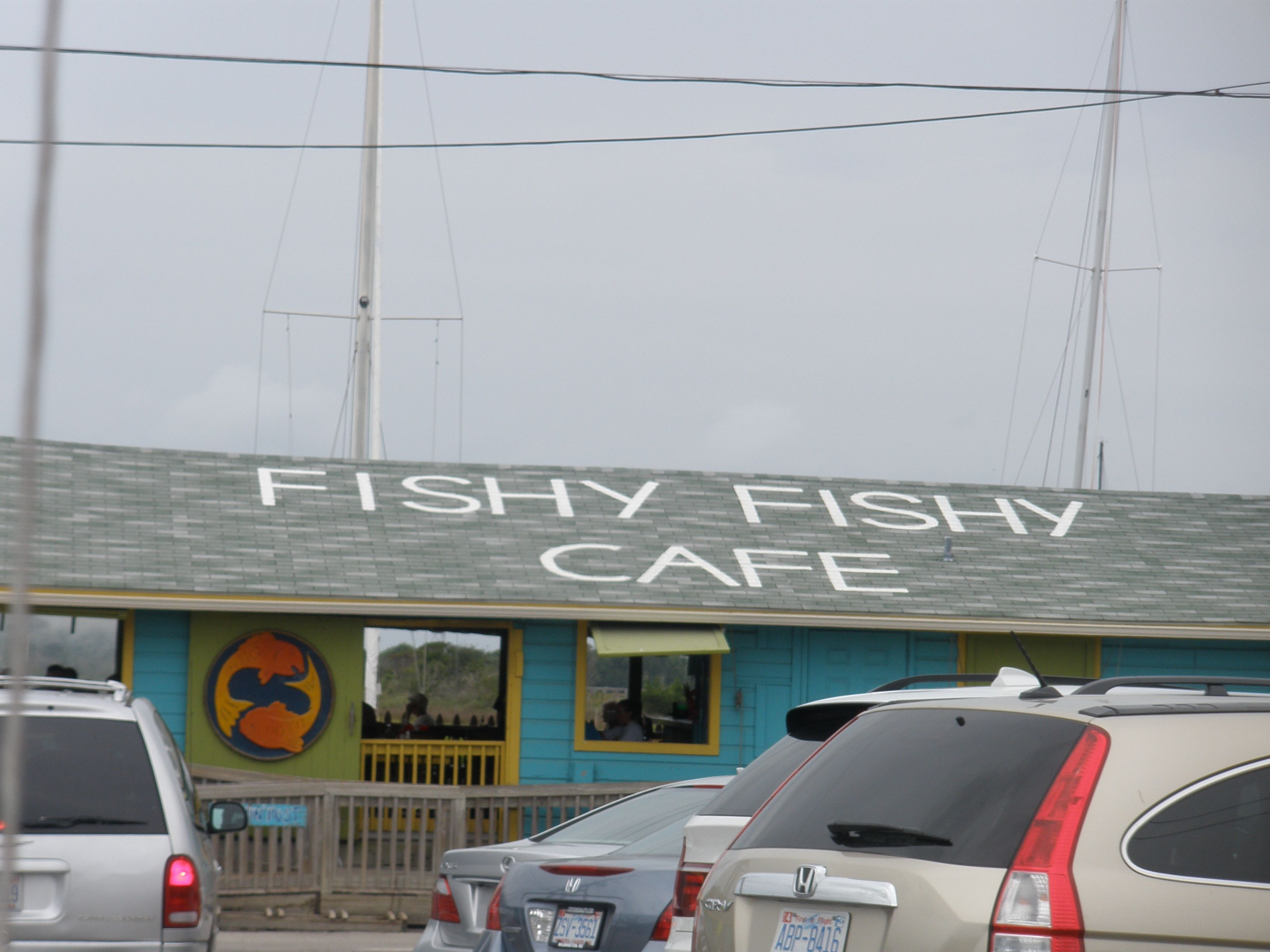 Fishy Fishy Café can be seen in the movie Safe Haven and