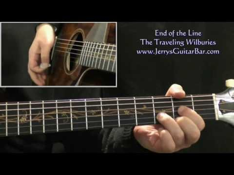 How To Play The Traveling Wilburys End Of The Line Intro Only