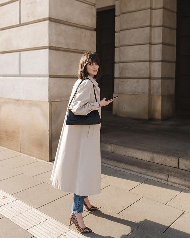 Karolina Oscik Alama Na Instagramie Autumn In The City Lookdujour Nowy Wpis Na Blogu A W Nim Kod Znizkowy Cajmel 30 Na C Style Fashion Midi Skirt