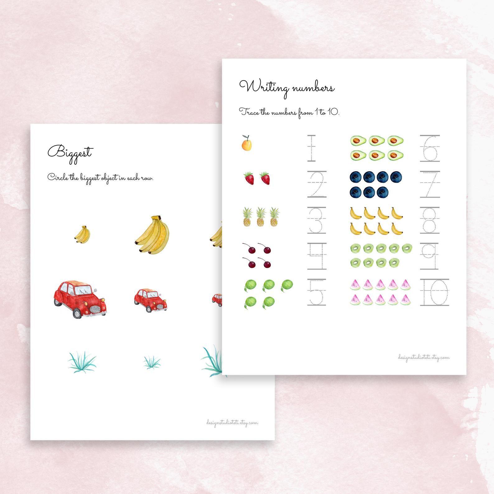 100 Kindergarten Worksheets Printable Worksheets
