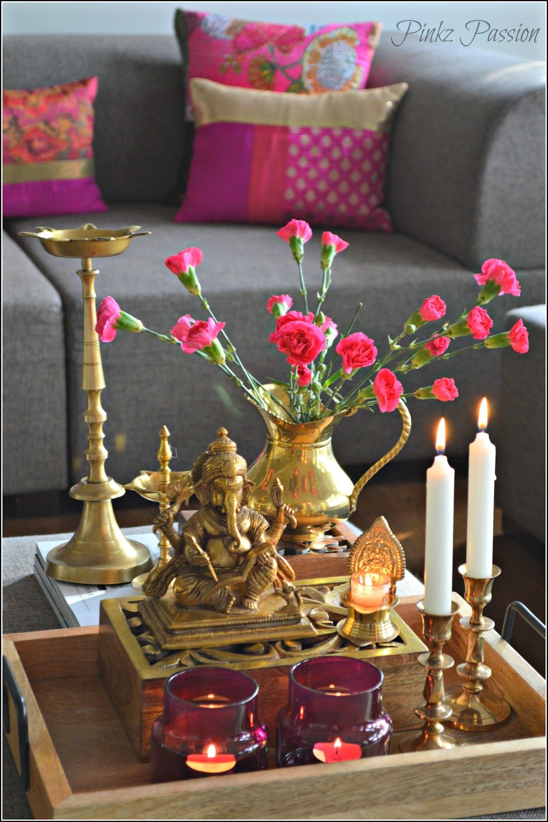 Pinkz Passion Ganesh in 2019 Indian home decor, Home