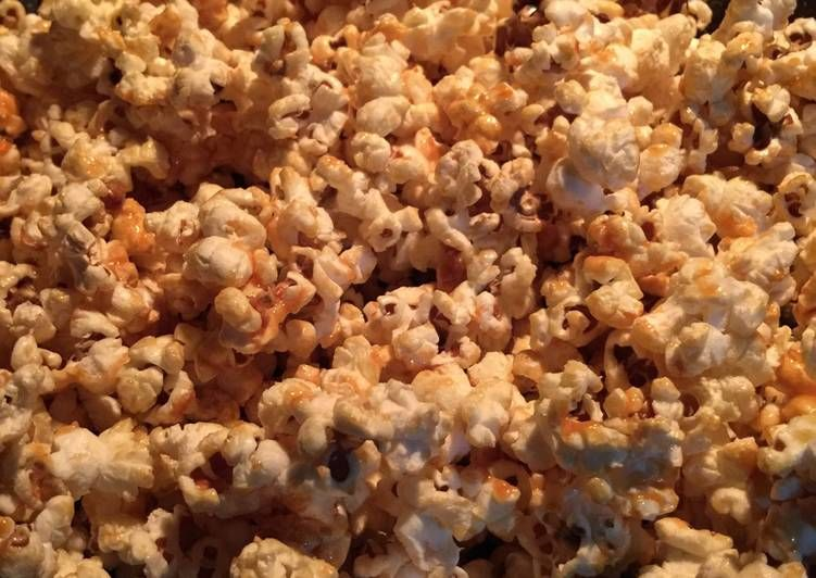 Resep Caramel Popcorn Oleh Susi Agung Resep Popcorn Karamel Wajan