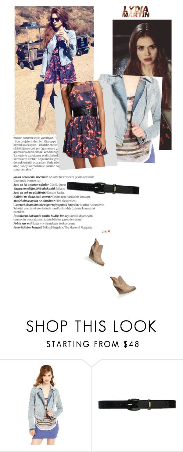 """Lydia Martin [Season 3A]"" by bentleyswag ❤ liked on Polyvore featuring Balmain, GUESS, Lauren Ralph Lauren, TeenWolf and LydiaMartin"