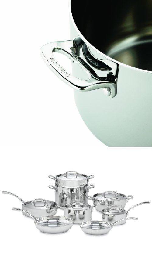 Cuisinart Fct 13 French Classic Tri Ply Stainless 13 Piece