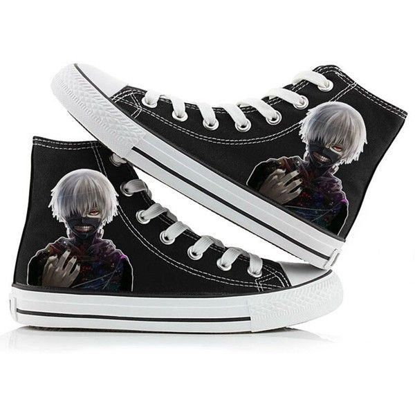 Tokyo Ghoul Anime Kaneki Ken Cosplay Shoes Canvas Shoes Sneakers Many...  ($36