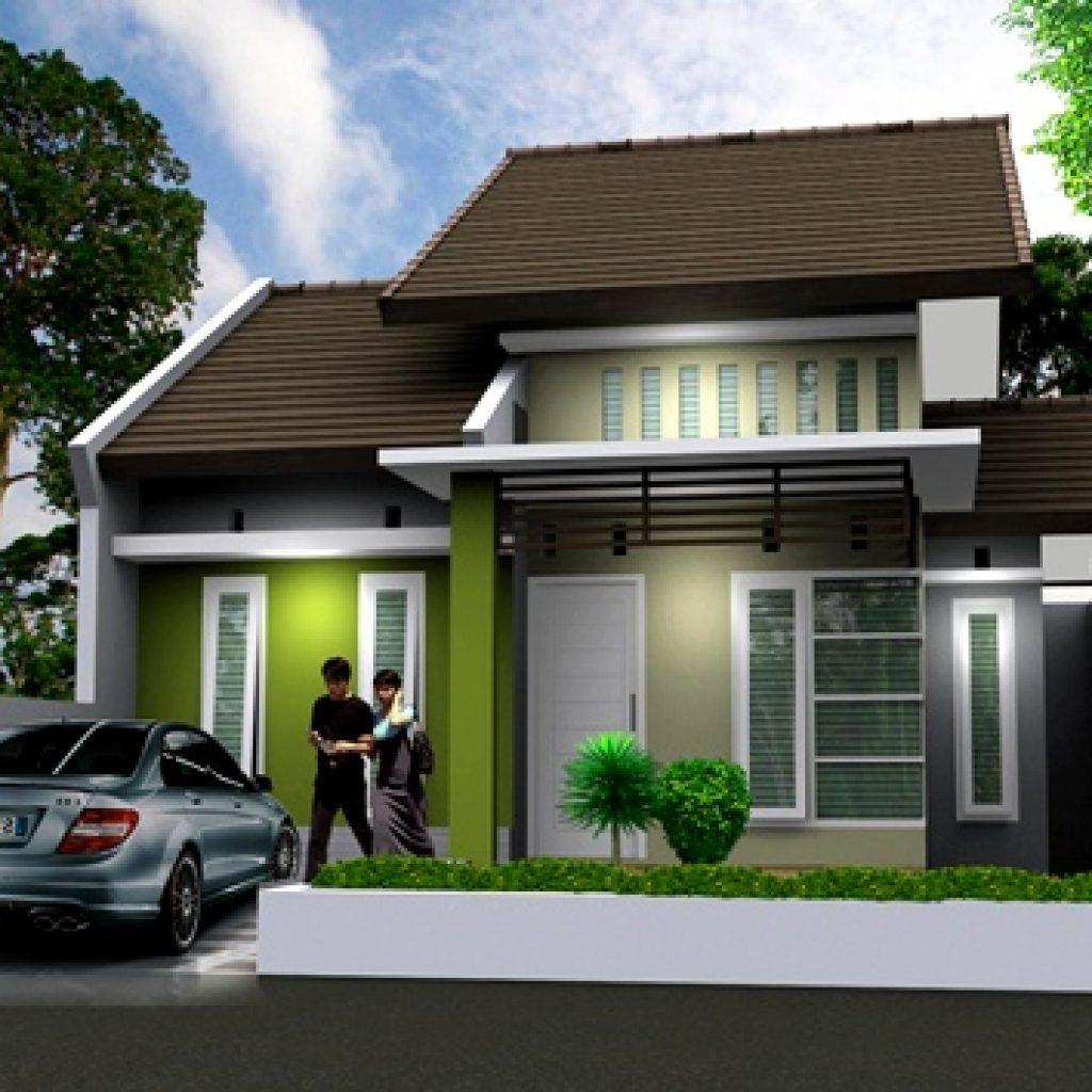 10 Model Rumah Sederhana Di Kampung Terbaru 2019 Outdoor