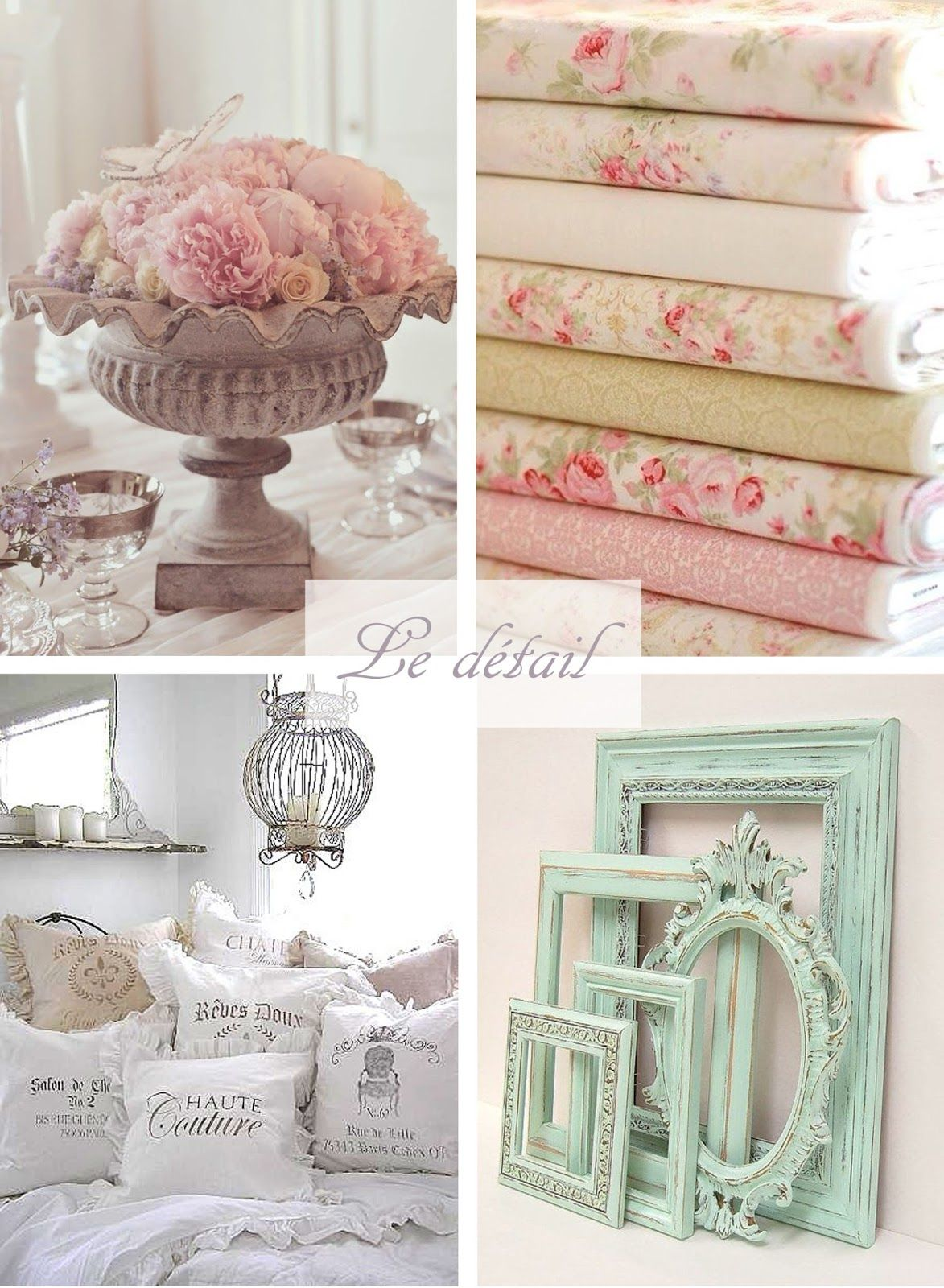 mcd inspiration pour une chambre shabby chic. Black Bedroom Furniture Sets. Home Design Ideas
