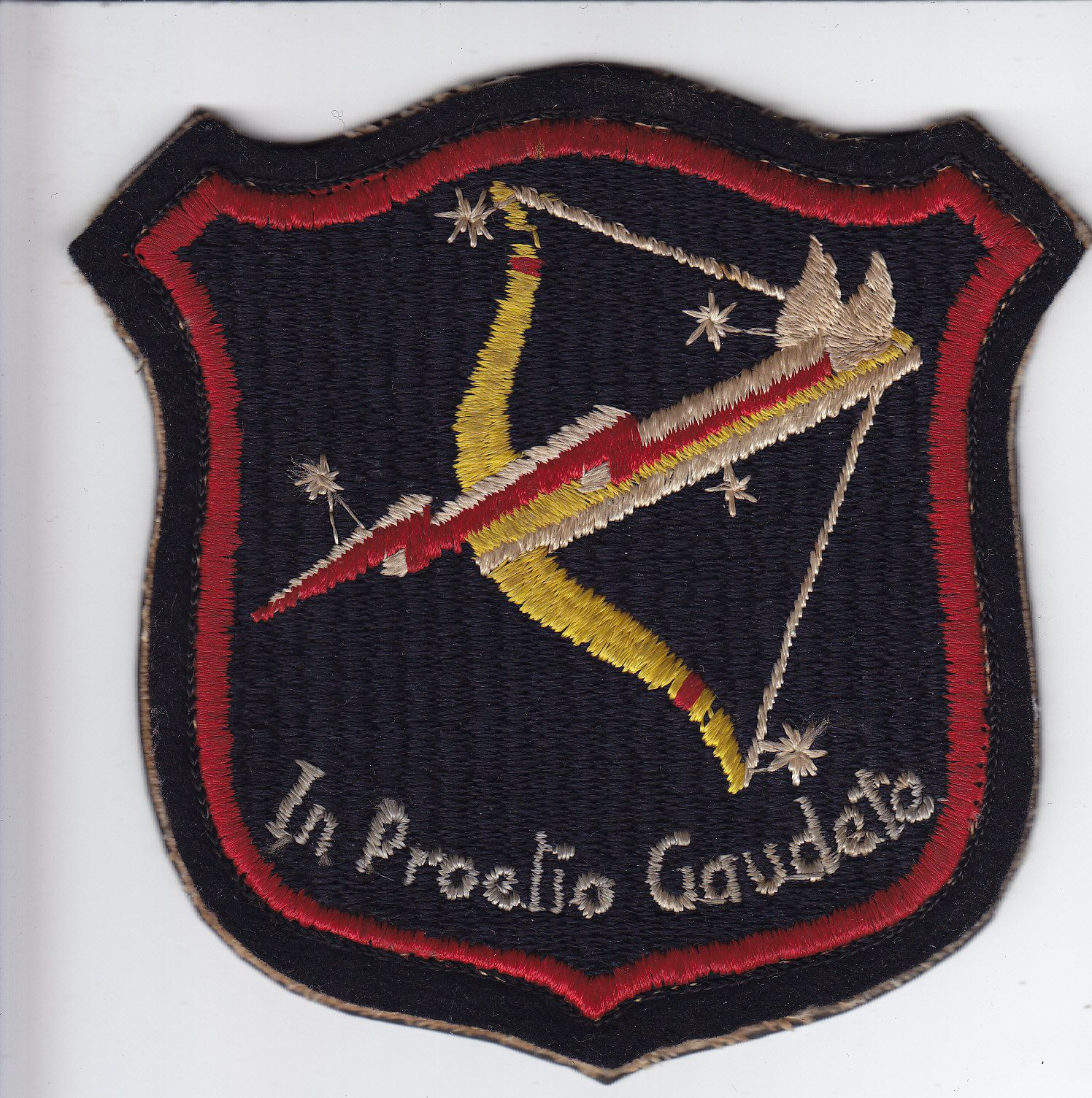 Original WWII 475th Fighter Group Patch, Embroidered on