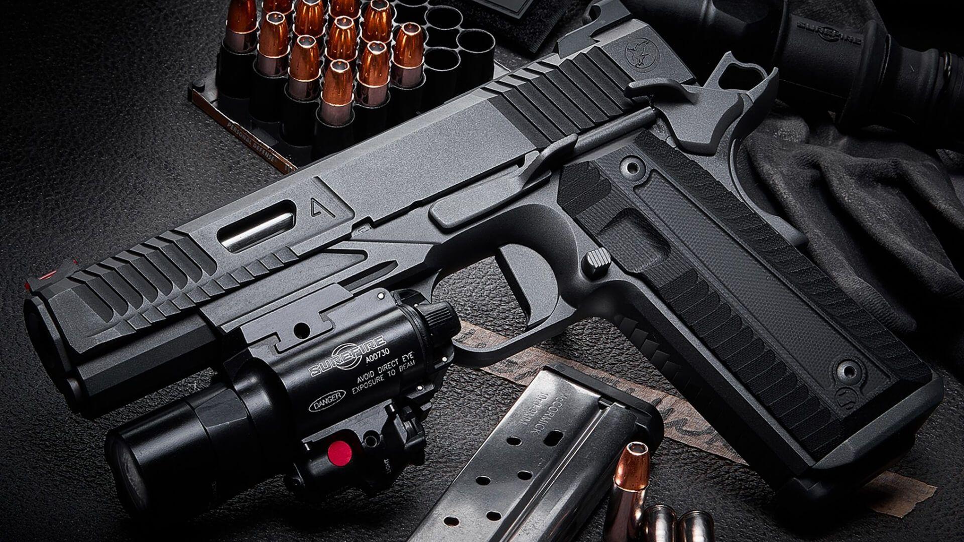 Nighthawk Custom 1911 Agent2 in 9mm and 45 ACP. Visit www ...