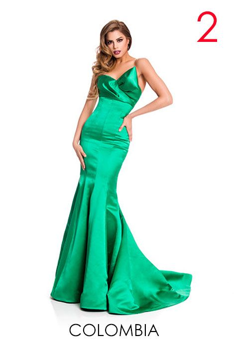 Re miss universe 2015 complete official evening gown photos