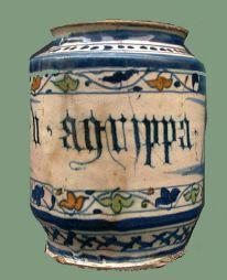 Antique italian maiolica 17 th c
