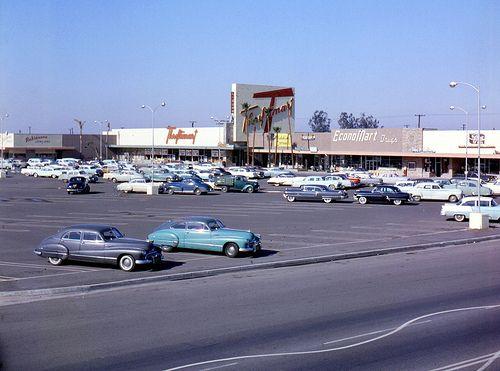 Orange County Plaza, Chapman Ave., Garden Grove, 1957