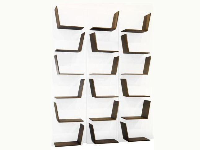 Estante de parede lacada modular BLOOM - SISKÔ DESIGN