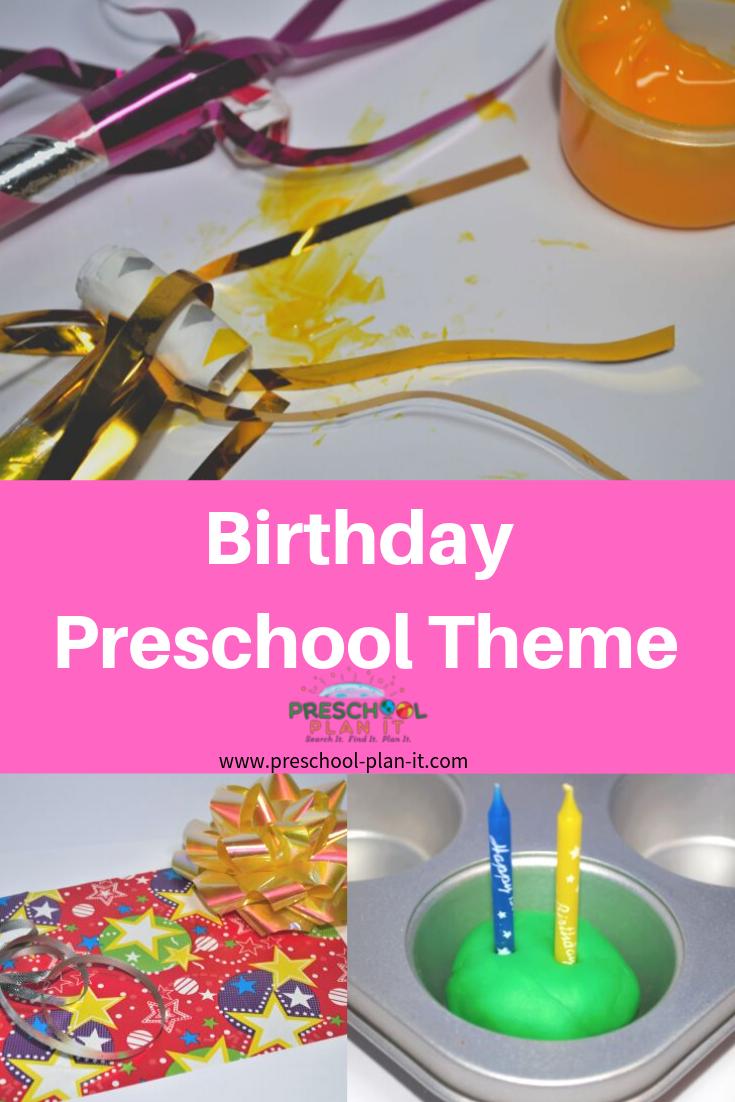Preschool Birthday Theme Preschool Birthday Preschool Celebration Preschool Science Activities [ 1102 x 735 Pixel ]