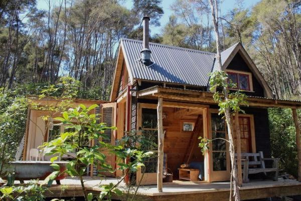 Tiny OFFGRID Cabin In New Zealand  Love The Layout  Outdoor - Small off grid homes