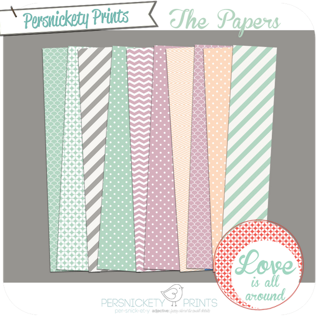 #persnicketyprints digital papers