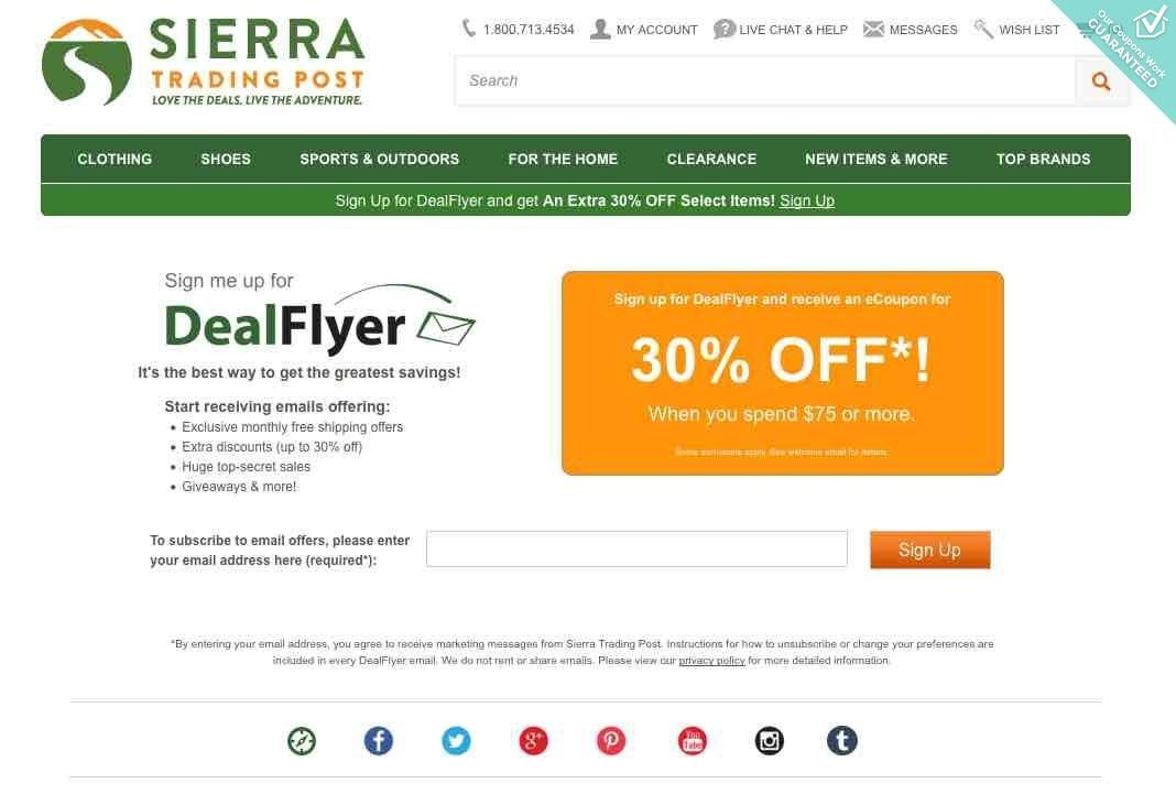 More About SIERRA Coupons