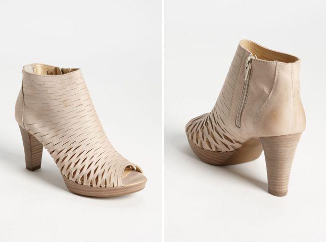Pandora Peep Toe Bootie   15 Things to Buy + DIY for a Summer Wedding