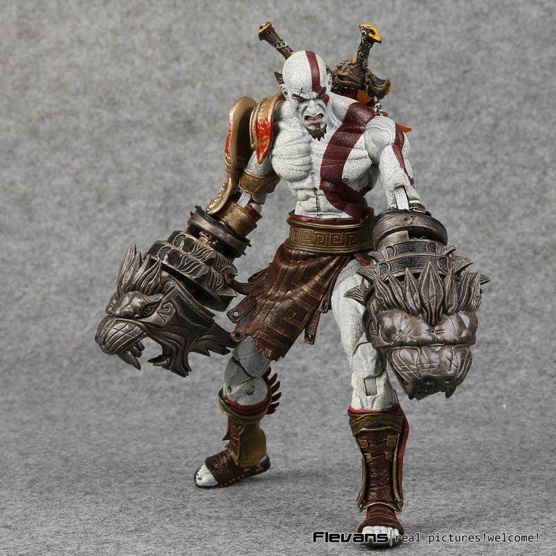 NECA God of War 7inch Medusa armor Edition Sparta Kratos PVC Action Figure Toy
