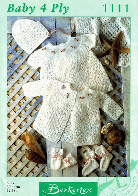 28a8f3ea8 Baby Layette including blanket .pdf pattern at a sale price by ...