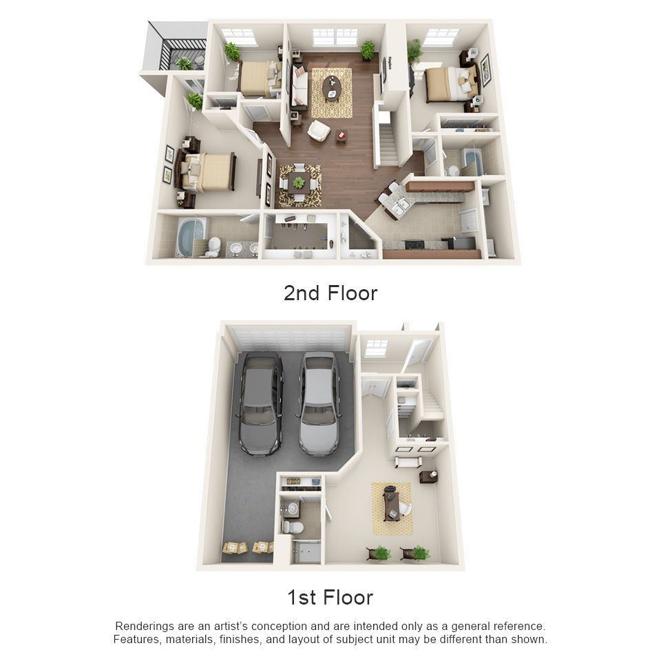Luxury 1 2 3 And 4 Bedroom Apartments In Coppell Tx Coppell Texas Apartment House Floor Design Apartment Floor Plans Architectural Design House Plans