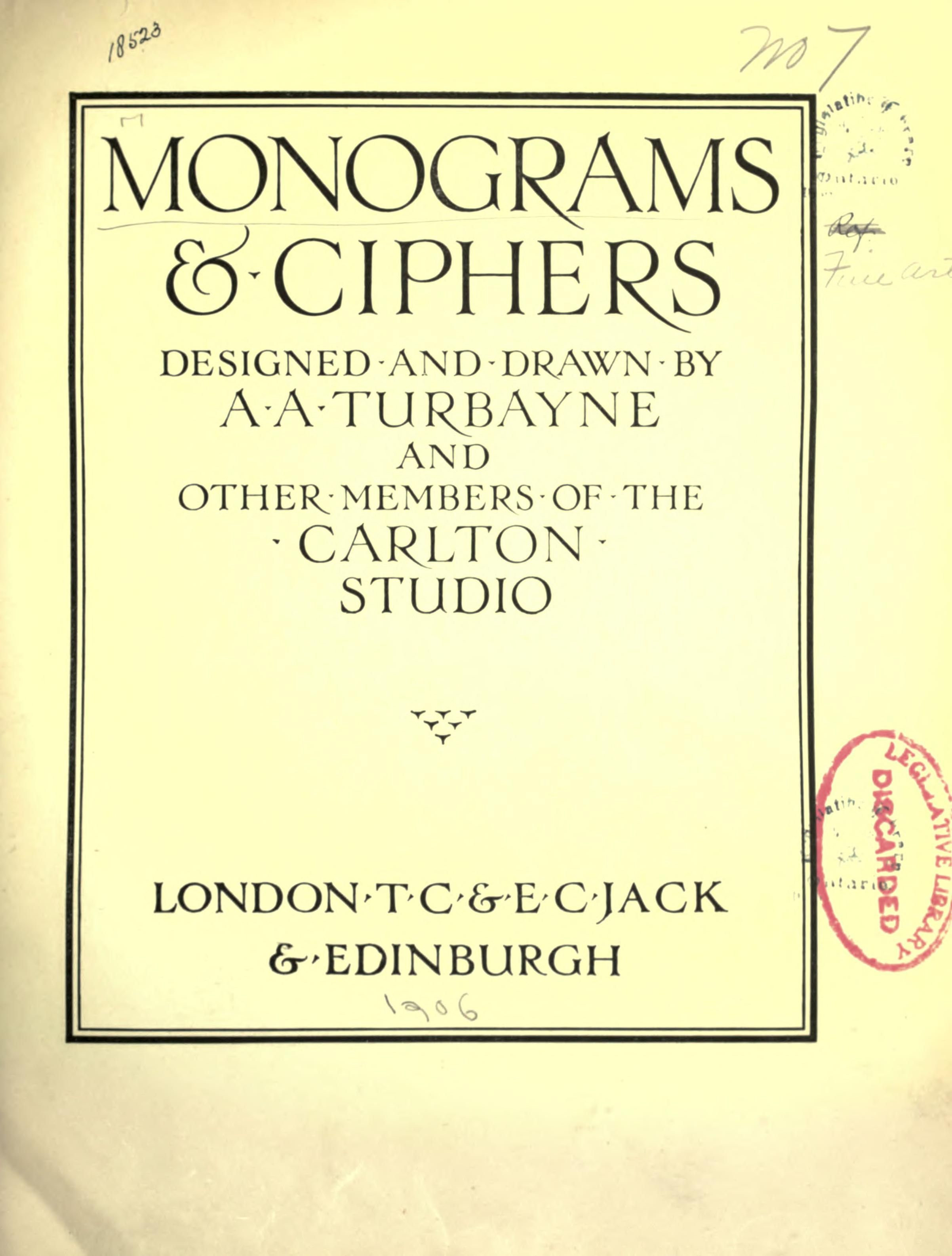 Monograms ciphers this old book is such a great reference if monograms ciphers this old book is such a great reference if you are ccuart Images
