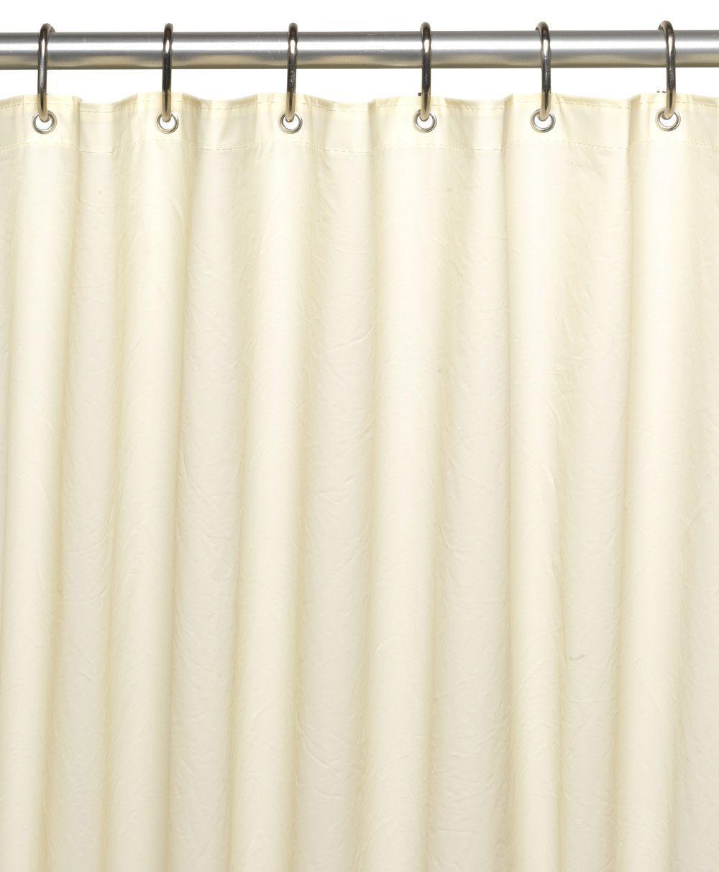 Standard Size 10 Gauge Peva Shower Curtain Liner With Metal