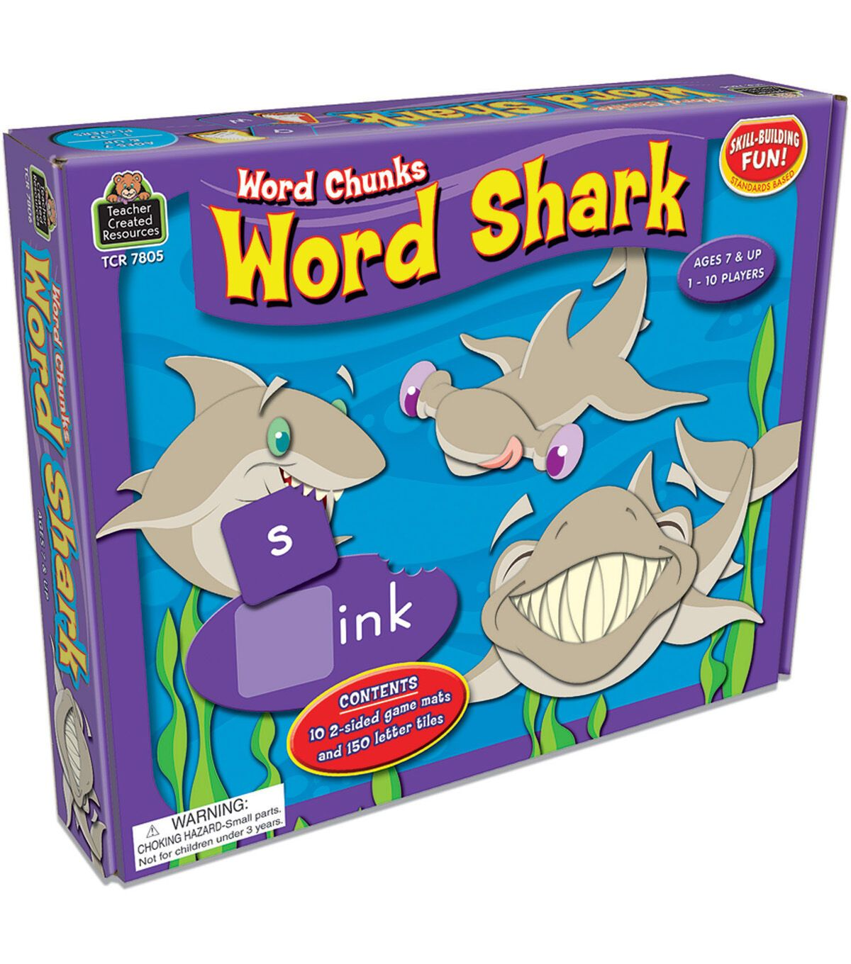 Teacher Created Resources Word Shark Word Chunks Game In