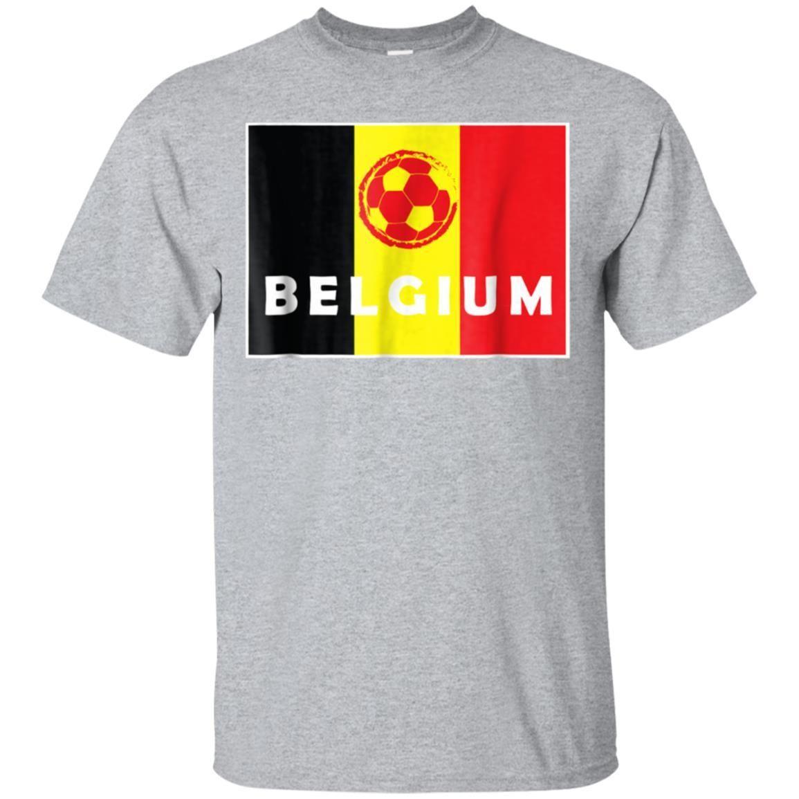 99promocode Belgium T-shirt Belgian Soccer Football Jersey Team Fan 2018 94a6131ee