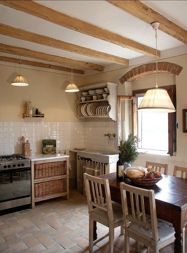 European Country Kitchen.