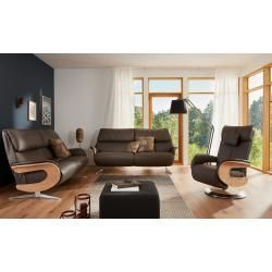 Leather sofas -  Leather sofa 3-seater Elin – brown – 217 cm – 106 cm – 92 cm – upholstered furniture> sof - #apartmentdecorating #besthomediy #cutehomedecorations #diydecortutorials #diyhomecrafts #diyjewelrymaking #diyRoomdecor #easyhomediyupgrades #farmhousedecor #homedecorwall #kitchenideasdiy #leather #sofas