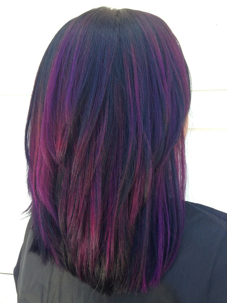 Everything Pravanas Amethyst Balayage With A 2n Base By Redken