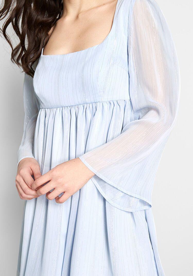 Sweet Sixties Babydoll Dress Babydoll Dress Blue Babydoll Dress Mod Cloth Dresses [ 1071 x 750 Pixel ]