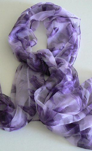 Silk Salon Oblong 100 Silk Scarf Belt Hand Rolled Edges Roses Purple Silksalon Http Www Amazon Com Dp B00fdned0w Ref Cm Sw R P Scarf Scarf Belt Scarf Styles