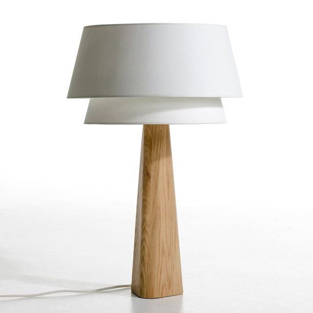 Pied de lampe Nestwood chªne massif