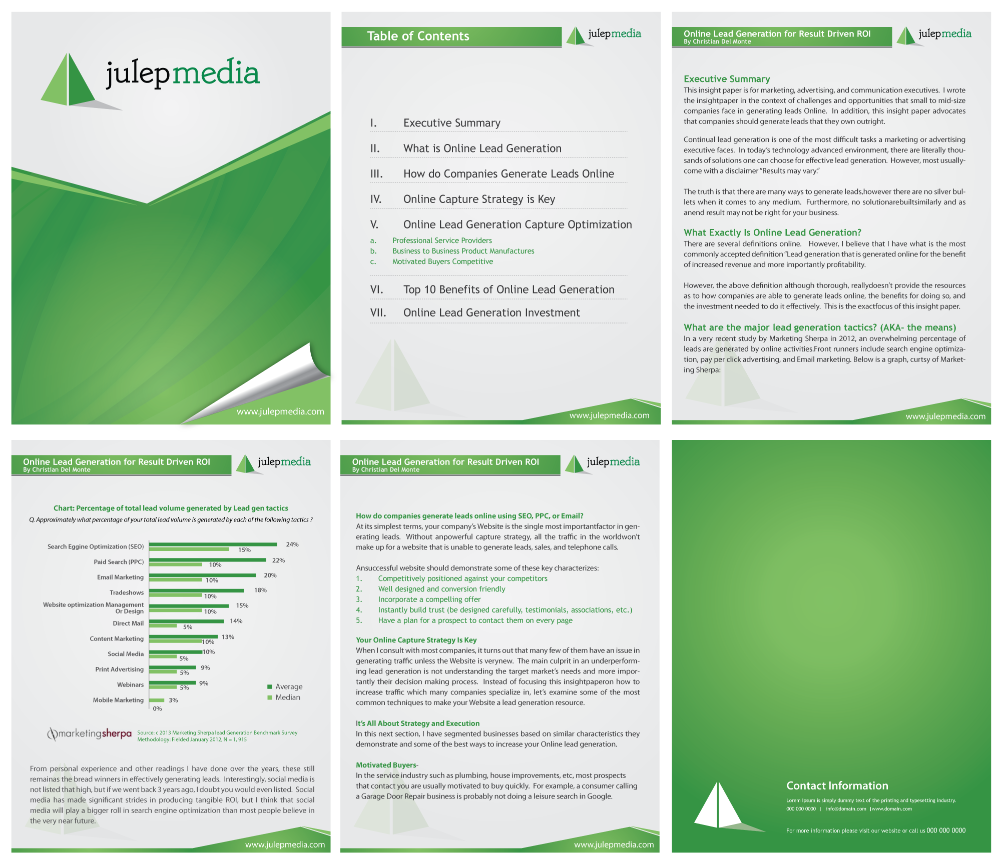 Beautiful New MS Word Template Design For A White Paper  Julep Media By F. In Free White Paper Templates