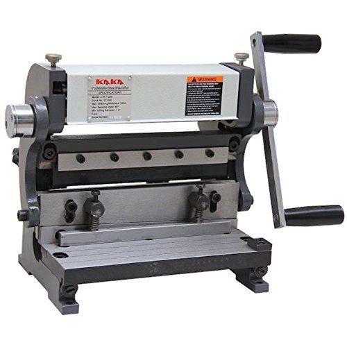 Kaka Industrial 8 In Sheet Metal Brake 3 In 1 Shear Brake Roll Combinations Kakaindustrial Sheet Metal Brake Sheet Metal Metal Bending Tools