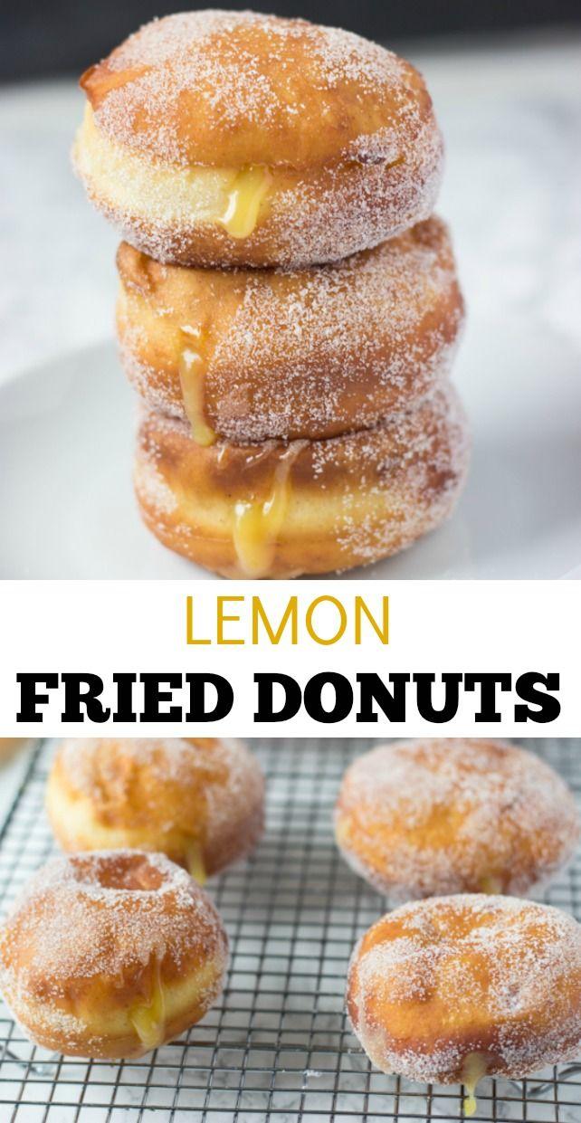 레몬 프라이드 도넛