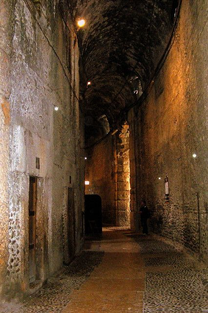 Corridor in the Arena di Verona - Veneto, Italy