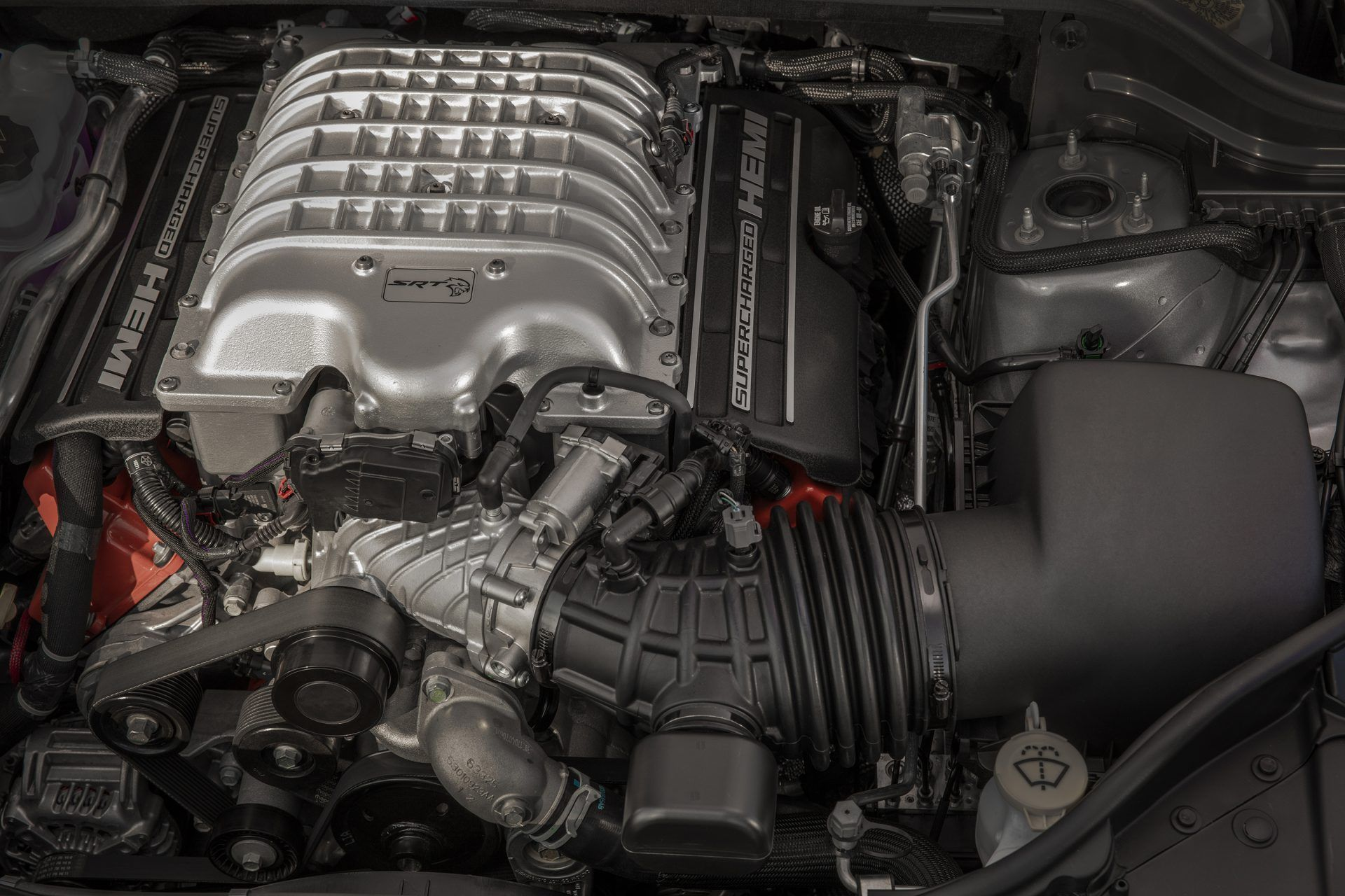 Hellcat Engine Fits In Both The Wrangler And Gladiator Hellcat Engine Jeep Hellcat