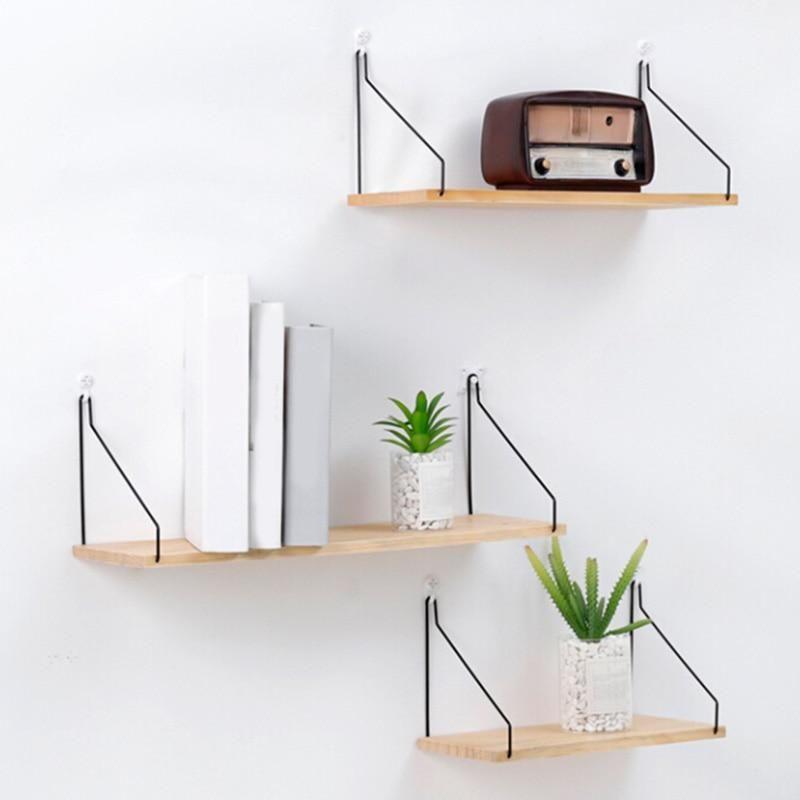 Nordic Style Scandinavian 1PC Metal Wall Shelf Wall Decor Shelf Kids Room Decoration Organizer Storage Holders