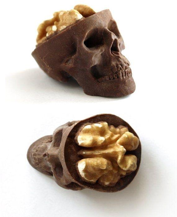 Chocolate walnut skulls http://media-cache3.pinterest.com/upload/89509111314119603_cjVskNa6_f.jpg levato curiosities