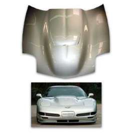 Corvette Hood Supercharger Carbon Fiber 1997 2004 Carbon Fiber Supercharger Corvette