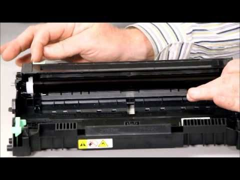 Brother MFC 7340 - How To Change Your Toner/Drum | OFFICE