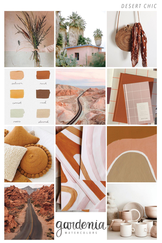 Art Design Brand Decor Color Palette Warm Colour Palette