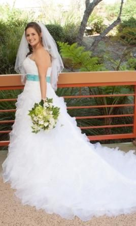 Monique Luo Ch 515 Find It On Preownedweddingdresses Used Wedding Dresses